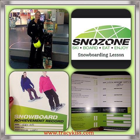 Snowboarding Lesson At The Snozone In Milton Keynes
