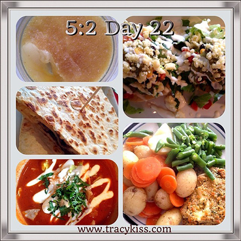 5:2 Day 22 Food