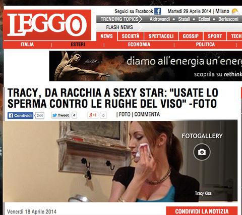 Leggo Report On My Semen Facial Blog Review