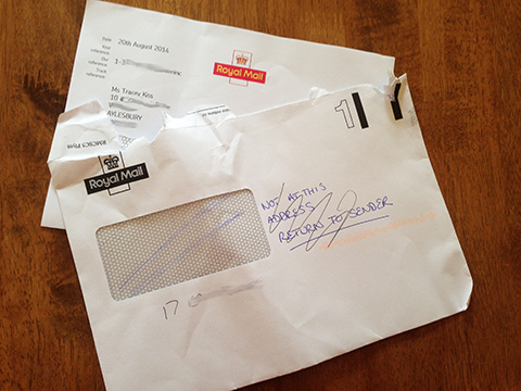 The Royal Mail Delivered My Dangerous Driving Complaint Response To The Wrong Name And Address