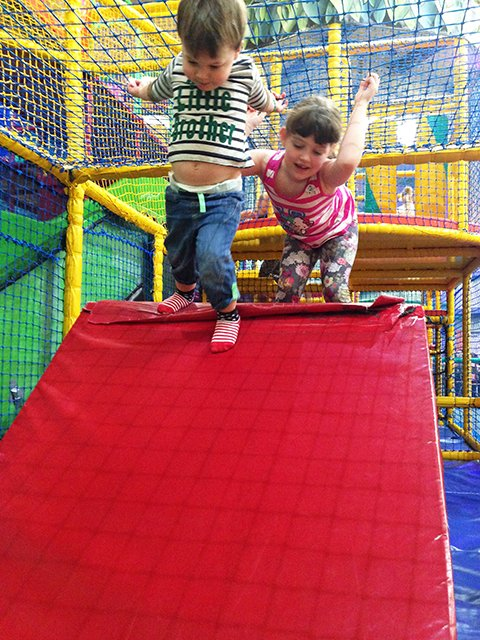 We Spent A Rainy Afternoon At The Indoor Play