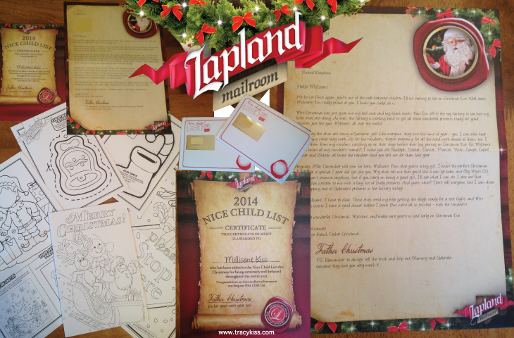 Lapland mailroom childrens personalised letter from santa lapland mailroom chrildrens personalised letters from santa spiritdancerdesigns Image collections