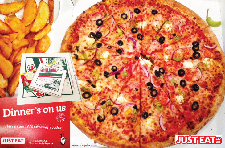 Just Eat Papa John's Pizza Aylesbury