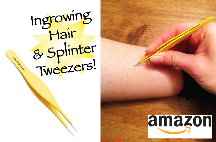 Majestic Bombay Ingrown Hair & Splinter Tweezer