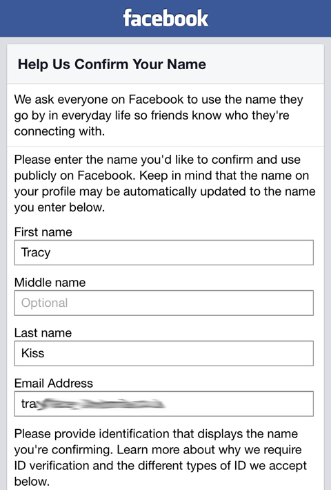 How To Verify Your Identity On Facebook