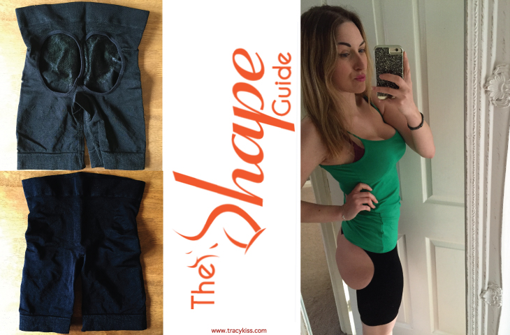 The Shape Guide Black Butt Lifter Thigh Trimmer Shorts