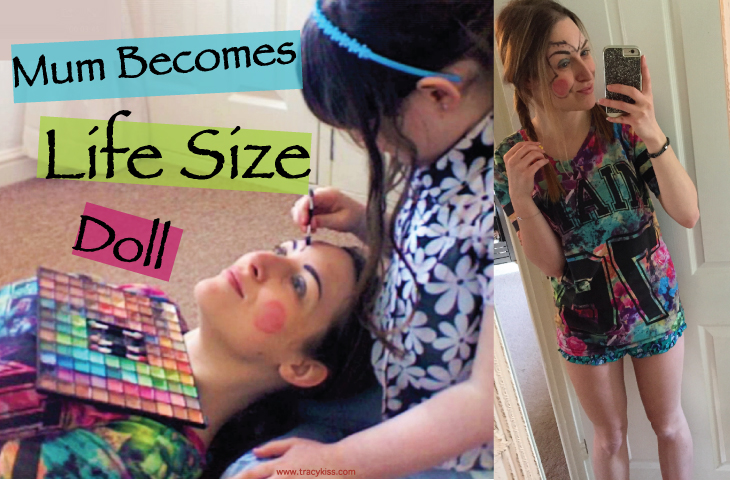 Tracy Kiss Becomes A Life Size Doll