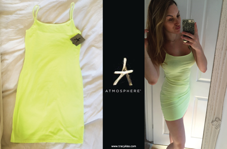 Atmosphere Lime Cami Dress