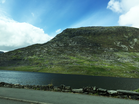 The Landscape Leading To Mount Snowdon