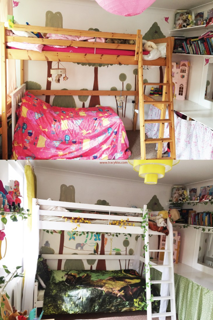 The Children's Bedroom Before And After