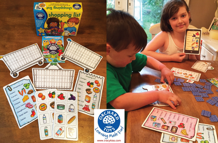 Orchard Toys Children's Shopping List Memory Game