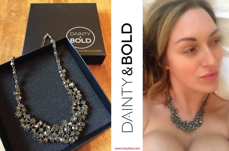 Dainty & Bold Black Crystal Necklace