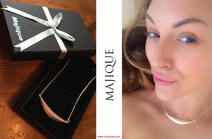 Majique Silver Bar Necklace