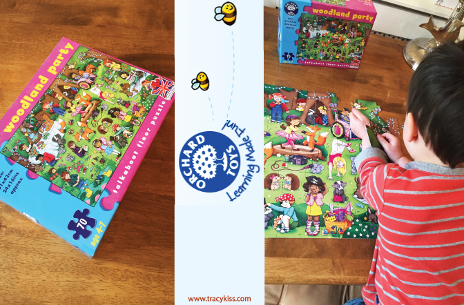 Orchard Toys Woodland Party Puzzle