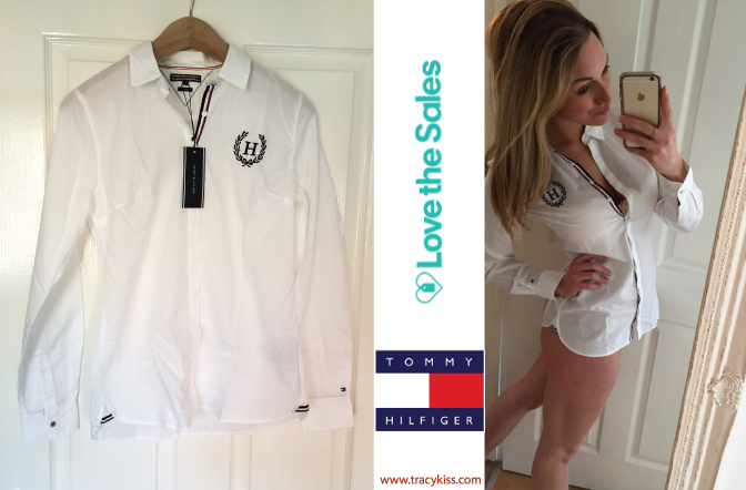 Love The Sales Tommy Hilfiger White Fran heritage Shirt