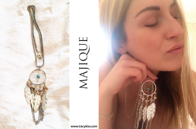 Majique Turquoise Dream Catcher Necklace