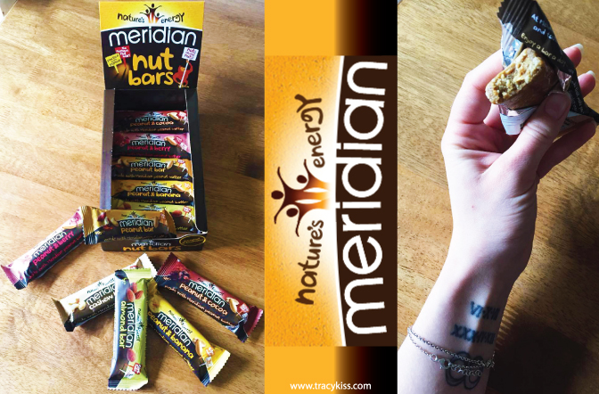 Meridian Nature's Energy Nut Bars