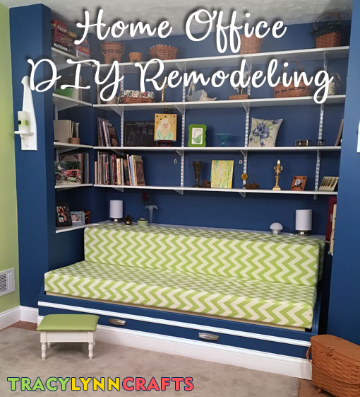 tracy model home office. Home Office DIY Remodeling From Drab To Exciting And Colorful Tracy Model A
