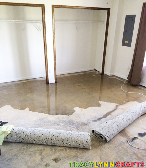 Water flooded into my home office