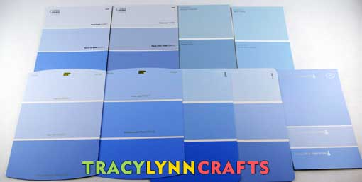 Craft room organization choosing paint colors