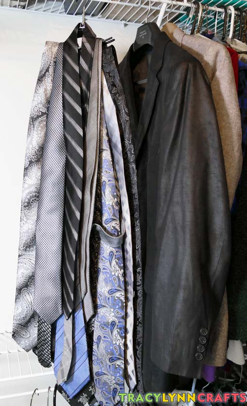 Are your ties stored in an unorganized fashion like this?