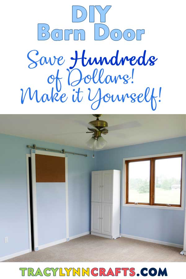 You can make your own barn door and save hundreds of dollars! | #barndoor #barn_door #DIY #barn #door #craft #craft_room