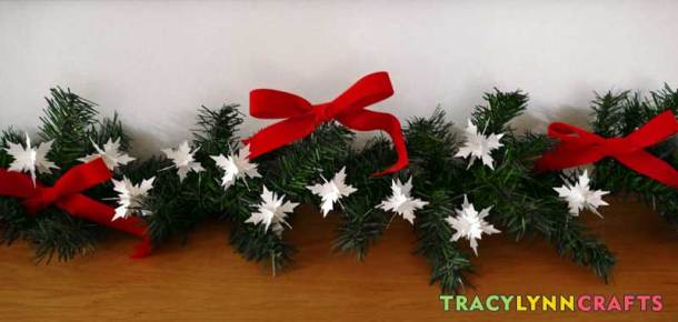 These tiny 3D paper snowflakes will help bring the beauty of winter into your home