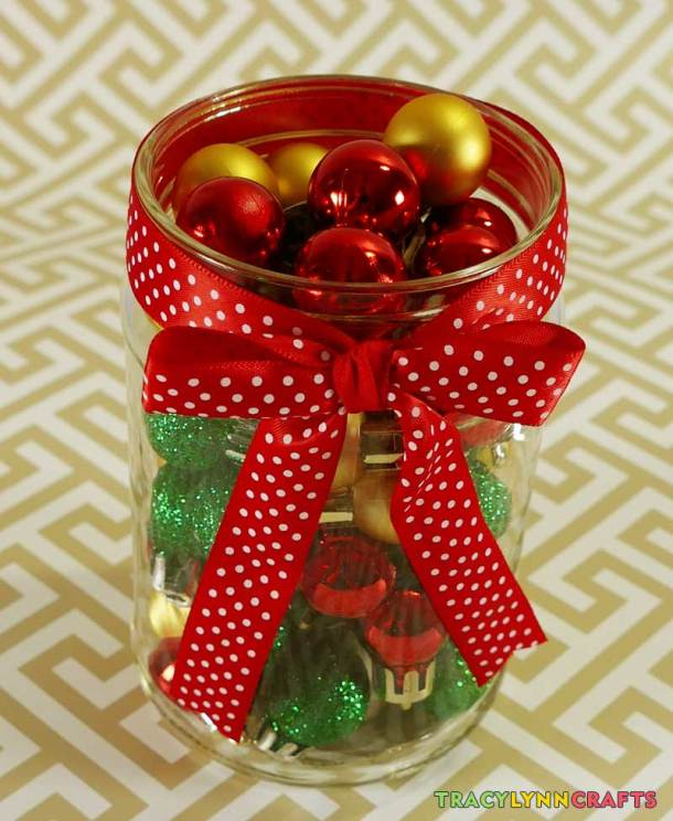 The potpourri-scented jar is adorable and will add holiday scents to your home