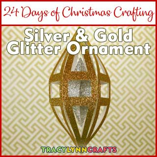 Silver and gold decorations, on every Christmas Tree