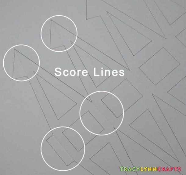 Score lines