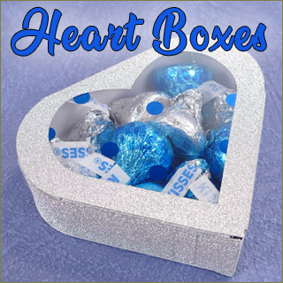 You can learn to make these adorable heart boxes for your special occasions
