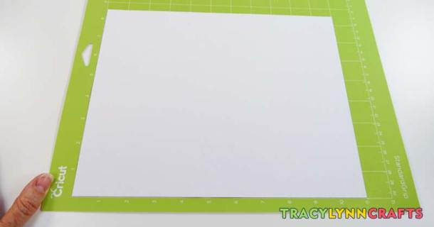 Place the magnet sheet on the cutting mat