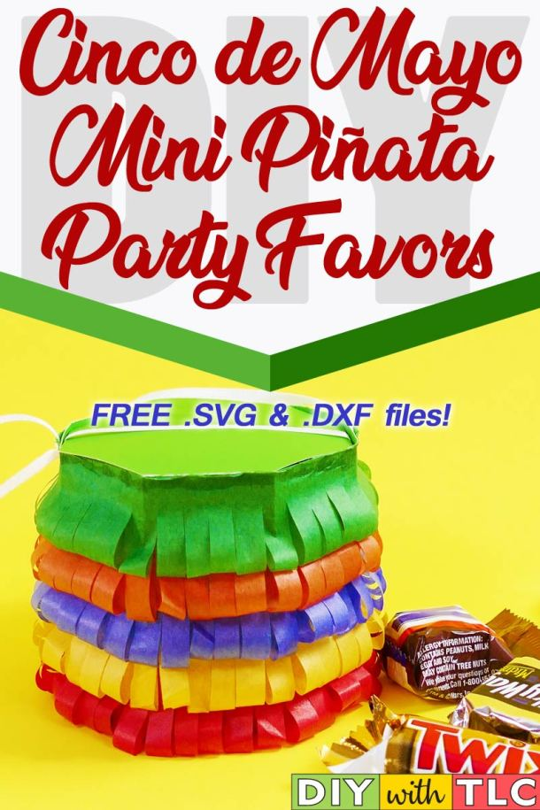 Celebrate Cinco de Mayo with these fun and easy mini piñata boxes
