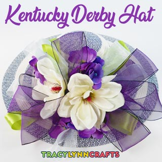 Learn how you can make a Kentucky Derby Hat to be a part of the fashion spectacular.
