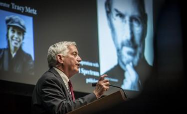 John Adams: Insanely great. Walter Isaacson on Steve Jobs