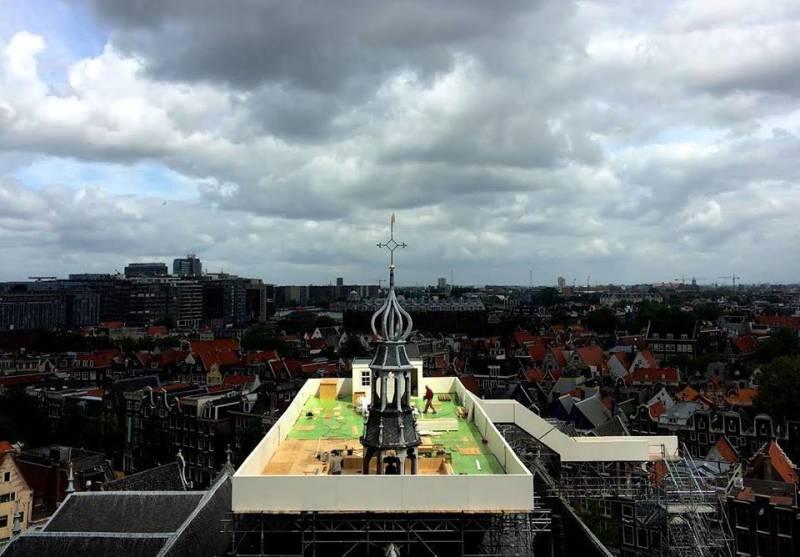 Stadsleven: Het dak op