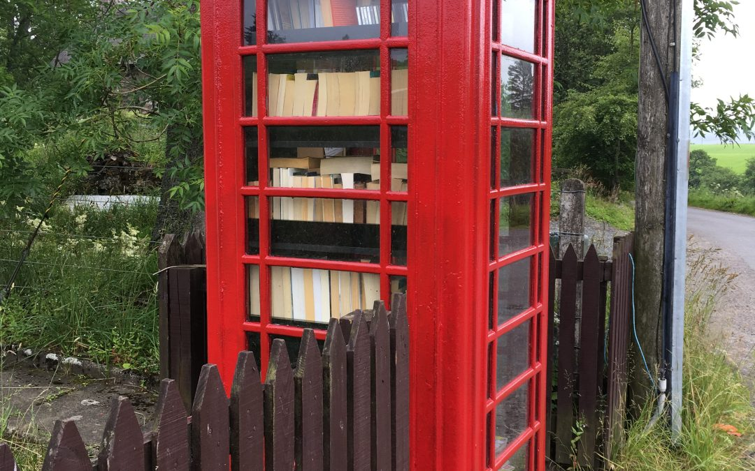 TRACY•TV #16 – Red phone booths and the life of a crofter