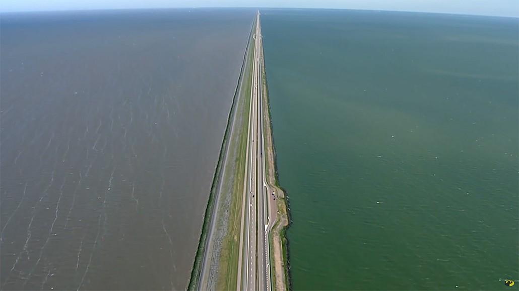 De stad in De Ochtend: renovatie Afsluitdijk