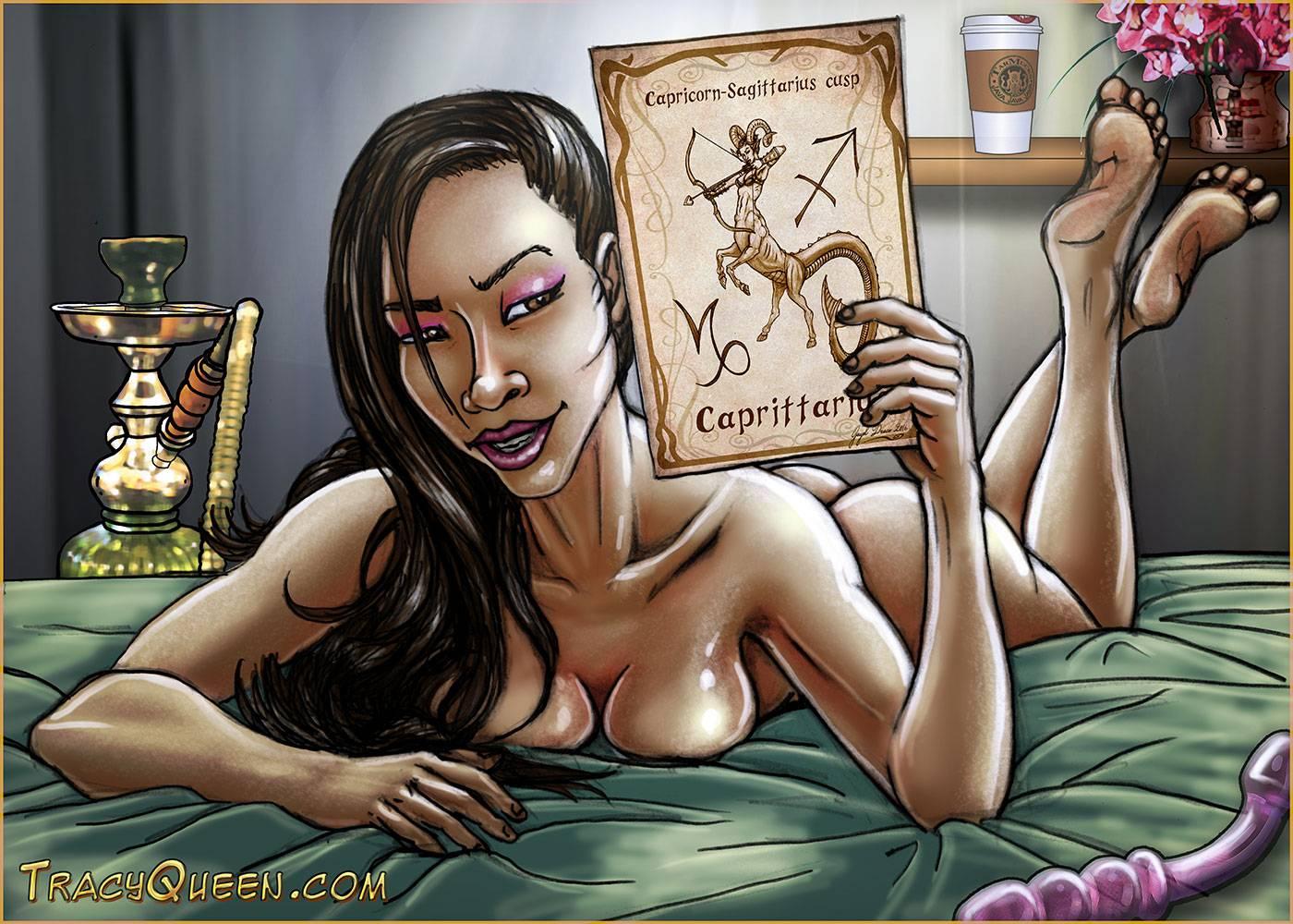 Tracy Queen - Caprittarius Star Sign