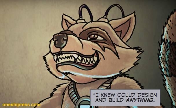 oneshi press opca tracy queen nikola backstory raccoon