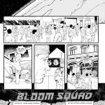 bloom squad full page comic comicbook oneshi press justice anthology earth world superpowers