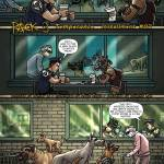 pack oneshi press justice anthology comic book comicbook dogs dog pack cop vigilante coffeeshop
