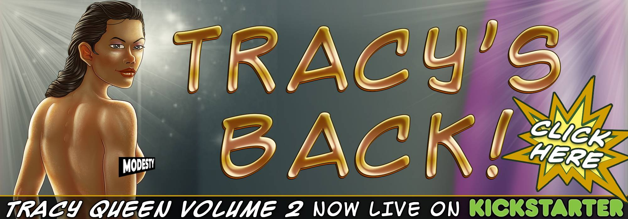 Tracy's back!
