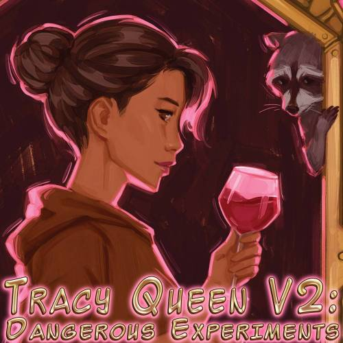 tracy queen v2 dangerous experiments cover art by tangmo cecchini square logo