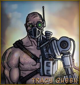 Tracy Queen - 1st Lieutenant