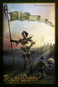 Tracy Queen and Nikola  Lead Cyborg-Clone Army