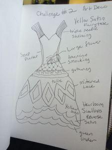 Tracy sews 1920s fairytale wedding dress