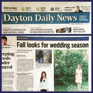 Dayton Daily News article by Sara Thomas