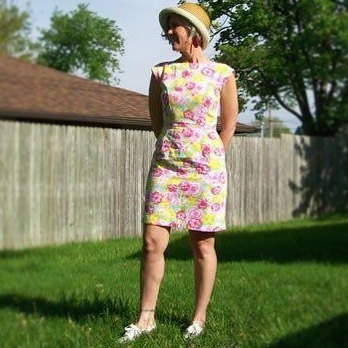 "Vintage Inspired 1960s Dress by Tracy McElfresh ""Stop the Train"""