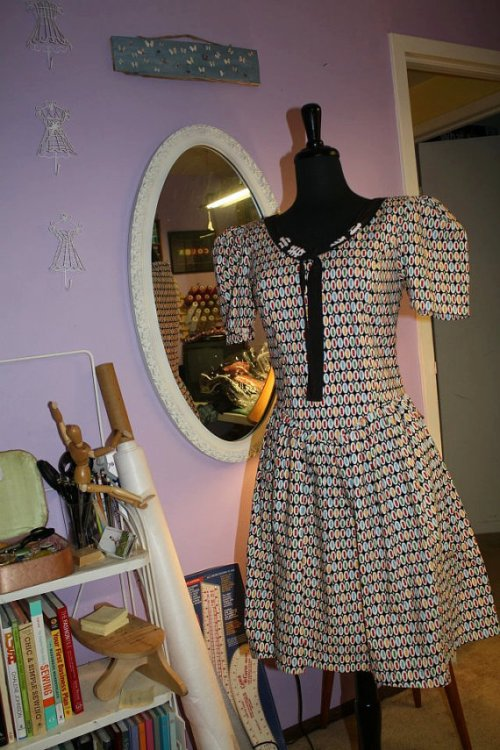 Downtown 1980s Inspired Princess Seam Dress by Tracy McElfresh